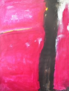 'donna in rosso' 170x200cm